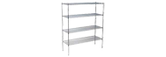 Chrome Shelf Racking